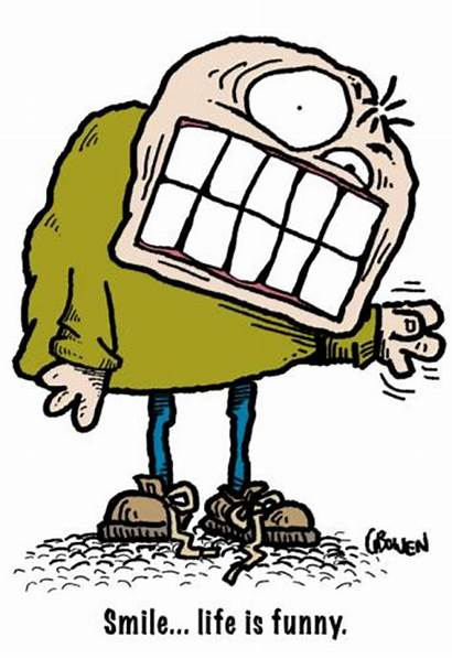 Smile Funny Cartoon Weird Clipart Cartoons Comics
