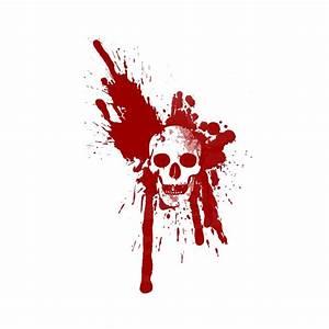 Tache De Sang : t shirt blood skull white ~ Melissatoandfro.com Idées de Décoration