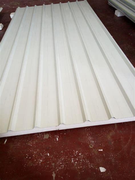 insulated fireproof roof rock wool sandwich panels  garagestorageplants