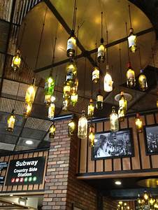 Cool idea for lighting in basement bar ideas