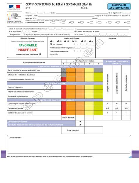 reglementation siege auto b découvrir la grille d 39 évaluation du permis de conduire ornikar
