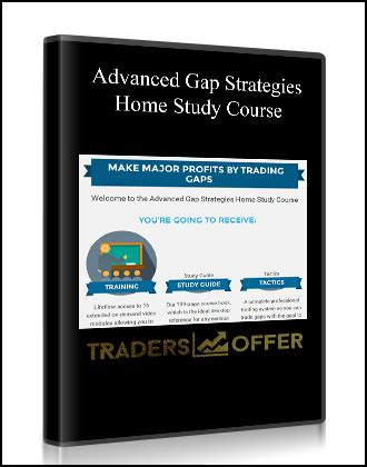 Advanced Gap Strategies Home Study Course  Traders Offer