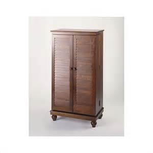 Leslie Dame Mission Media Cabinet by Leslie Dame Cd 612vm Merlot Mission Style Louvered Door