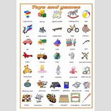 Toys And Games, A Pictionary (editable)  Esl Worksheet By Ludique22