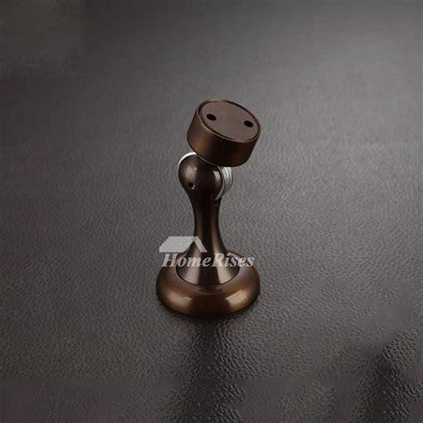 goldoil rubbed bronze wall mount brass door stop