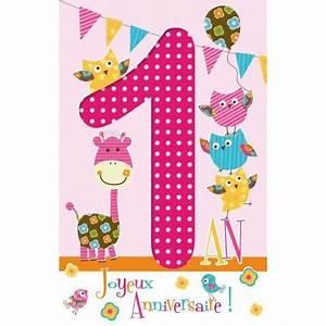 1 An Anniversaire : carte ge 1 an joyeux anniversaire voil d j 365 jours cm planete ~ Farleysfitness.com Idées de Décoration