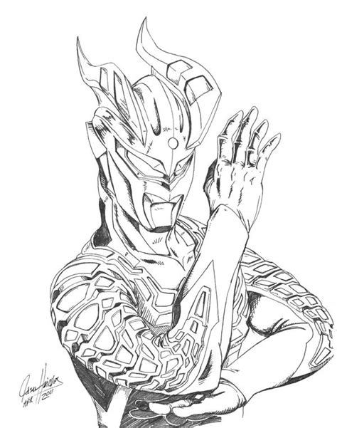 ultraman victory coloring pages coloring home