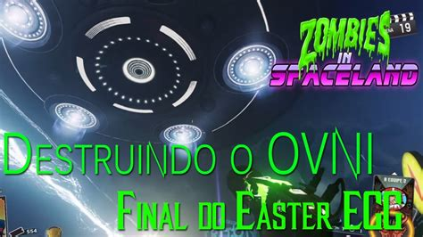 zombies  spaceland final  easter egg pt br call