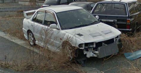 abandoned cars  fukushima