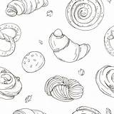 Yeast Cake Vector Illustrations Clip Illustration sketch template