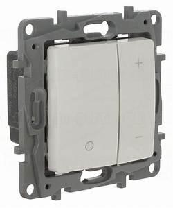 Variateur De Lumiere Led : interrupteur variateur de lumi re 400w 2 fils pur legrand ni ~ Dailycaller-alerts.com Idées de Décoration