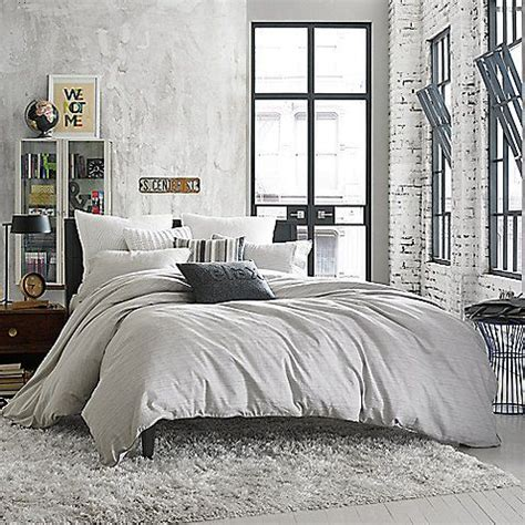 kenneth cole bedding kenneth cole reaction home element pillow sham in grey