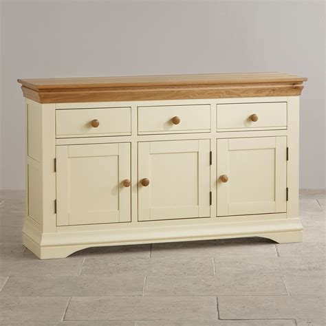 country cottage furniture country cottage oak large sideboard painted