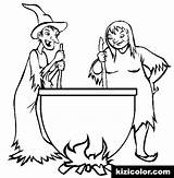 Coloring Cauldron Pages Popular sketch template