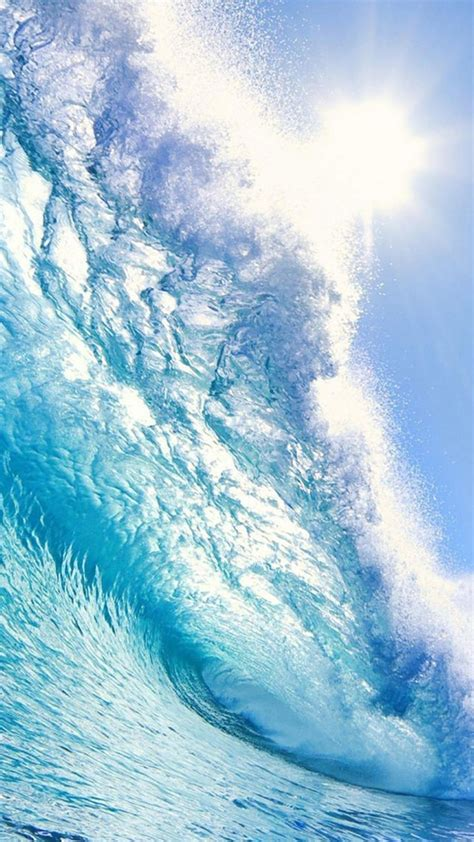 Blue Wave Beach  Best Htc One Wallpapers, Free And Easy
