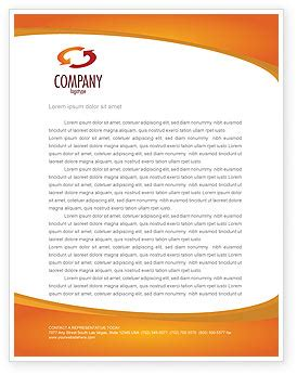 construction letterhead template layout