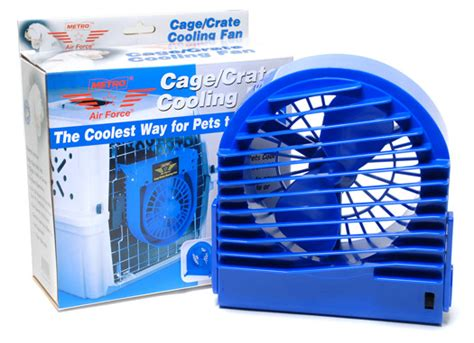 dog crate fan system metro air force cage crate fan