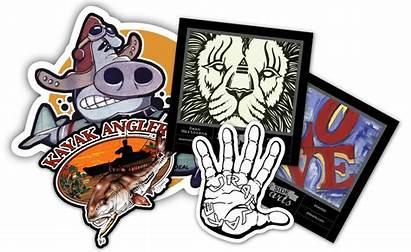 Custom Stickers Printing Sticker Artists Labels Beeprinting