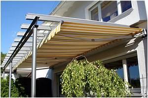 terrassenuberdachung mit markise With markise balkon mit tapete mickey