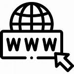 Domain Icon Website Business Enser Icons