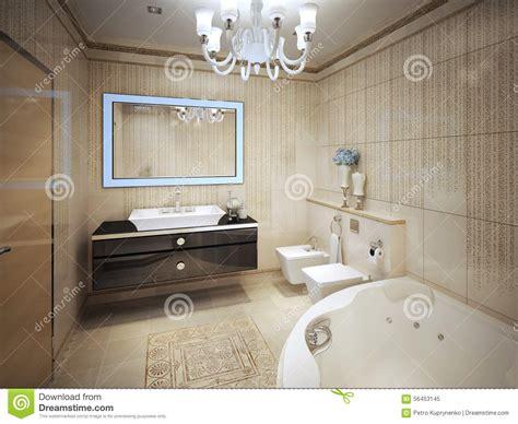 bagno elegante classico bagno classico elegante immagine stock immagine di telaio