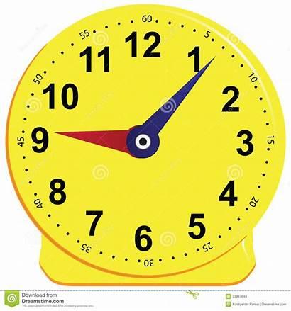 Clock Clipart Clocks Teaching Illustration Children Vector