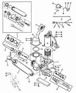 Mercury Marine 90 Hp  6 Cylinder  Power Trim Components Parts