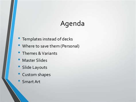 creating  great powerpoint template