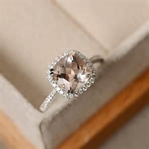 morganite ring gold 17 meilleures idées à propos de bagues de fiançailles sur