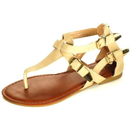 rosegirl womens gladiator sandals  strap thongs roman