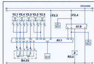 Ssangyong Rexton 2012 Main Electrical Circuit Wiring Diagram