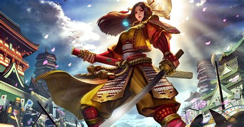 SMITE Moba Adds Japanese Pantheon | The Escapist