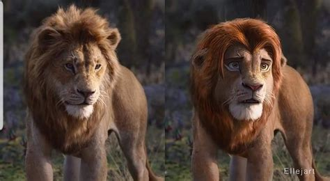 lion king characters   looked