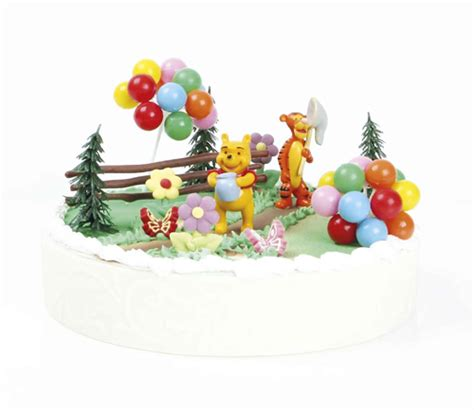 decoration anniversaire winnie l ourson kit g 226 teau winnie l ourson deco4cakes