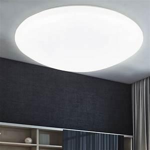 Ip20 Led Im Bad : led decken beleuchtung tages licht leuchte wohn ess zimmer bad b ro flur lampe ebay ~ Eleganceandgraceweddings.com Haus und Dekorationen