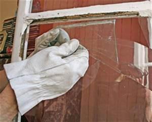 Remplacer Une Vitre : changer une vitre ou remplacer un carreau cass sur une fen tre simple vitrage mastic vitrier ~ Melissatoandfro.com Idées de Décoration