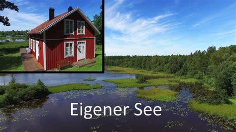 schweden ferienhaus   mit boot von privat youtube