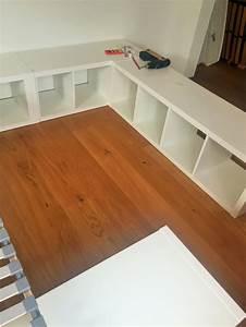 Bett Selber Bauen Einfach : familienbett aus kallax regalen einfach selber machen ~ Markanthonyermac.com Haus und Dekorationen
