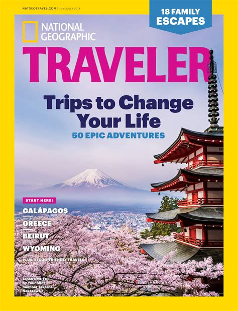 National Geographic Traveler Cover Features Photo Contest