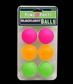 Black Light Reactive Neon Fabric Markers 6 pack