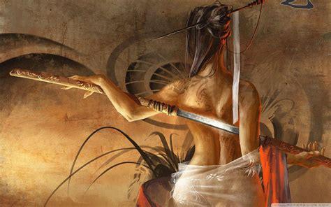 Top Free Samurai Art Backgrounds