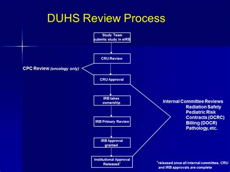 review process duke institutional review board irb