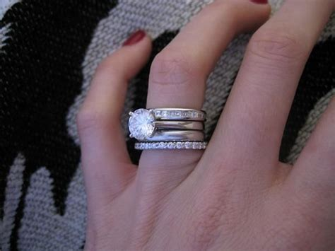 Best 25+ Stacked Wedding Bands Ideas On Pinterest