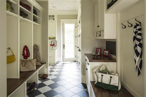 mudroom floor ideas mudroom cabinets transitional laundry room benjamin