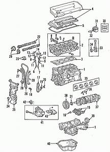 2010 Toyota Camry Parts Diagram