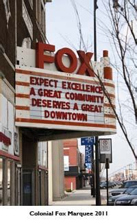colonial fox theatre foundation pittsburg kansas