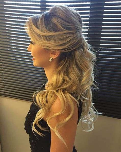 Formal Hairstyles On The Side by 31 Half Up Half Hairstyles For Bridesmaids Hair Do
