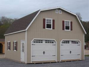 amish 24x24 double wide garage gambrel roof structure ebay With 24x24 garage material list