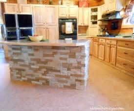 adhesive kitchen backsplash airstone island househoneys