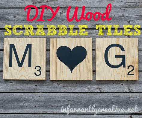 diy scrabble tiles infarrantly creative